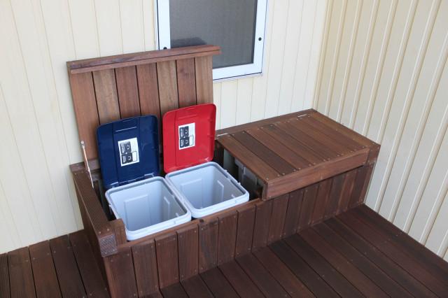 セランガンバツ施工例ゴミ箱