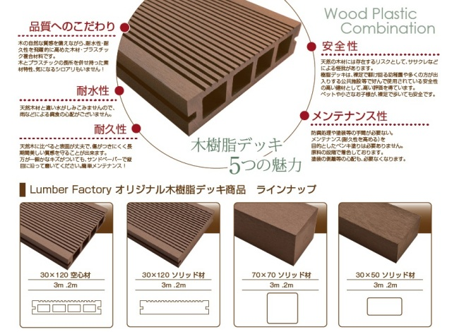 木樹脂説明文
